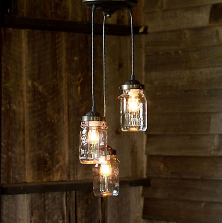 Mason Jar Pendant in For Home Shop by Category Lighting Pendants