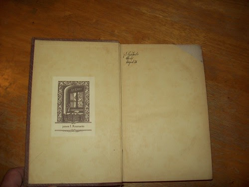 Library Book Sale 9-09: Frontispiece