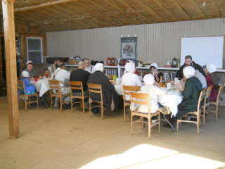 More of The Community Group During the Meal