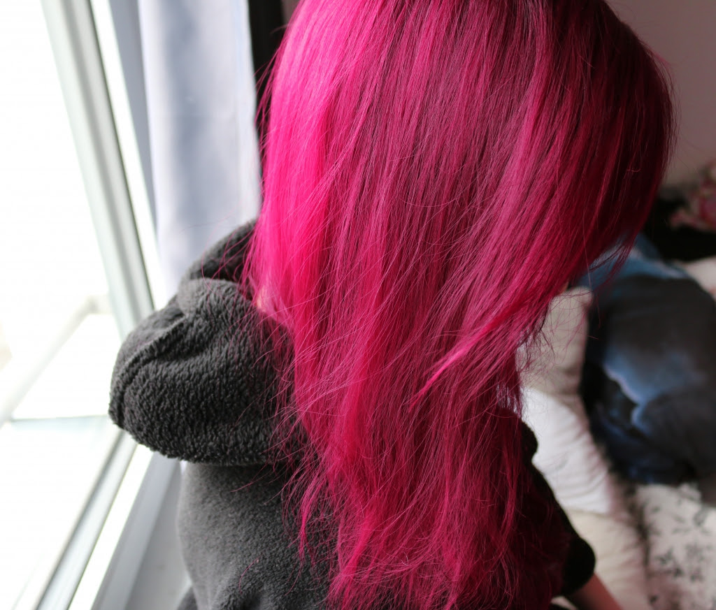 Rote Pinke Magenta Haare Ohne Blondierung Outer Space Style
