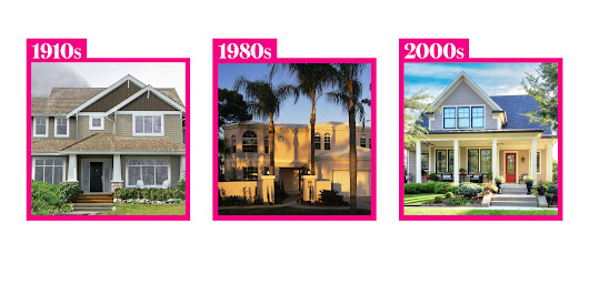 "16 Homes That Defined ""Curb Appeal"" in Every Decade"