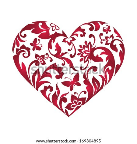 Heart leaves clipart free vector download (9,913 Free vector) for ...