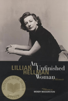 Hellman, on jacket of her autobiography An Unf...