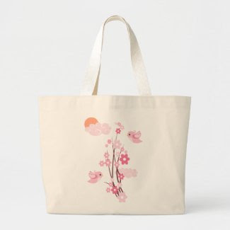 Love Birds & Delicate Flowers bag