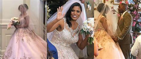 Inside Omarosa's Wedding   Lisa a la mode