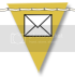photo Leelou Blogs free social icons mail yellow .png