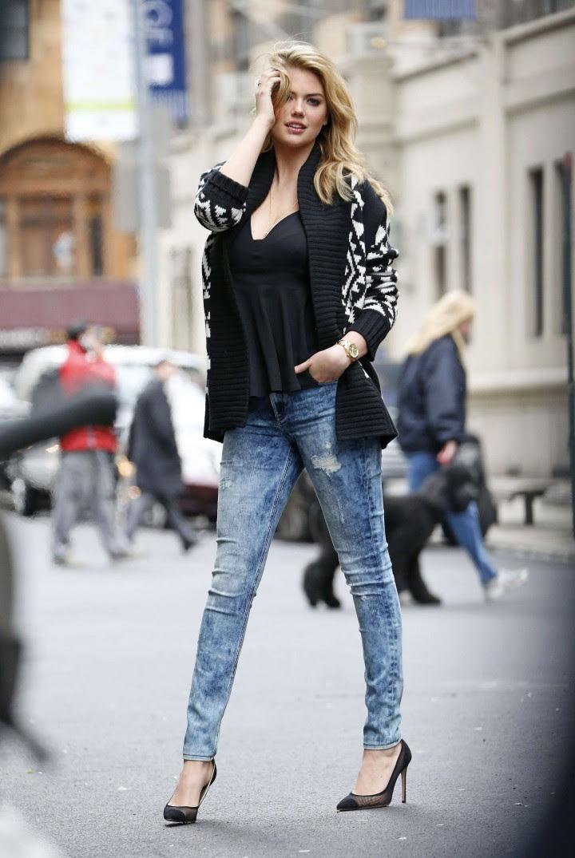 Kate Upton Street Photoshoot in NYC -32