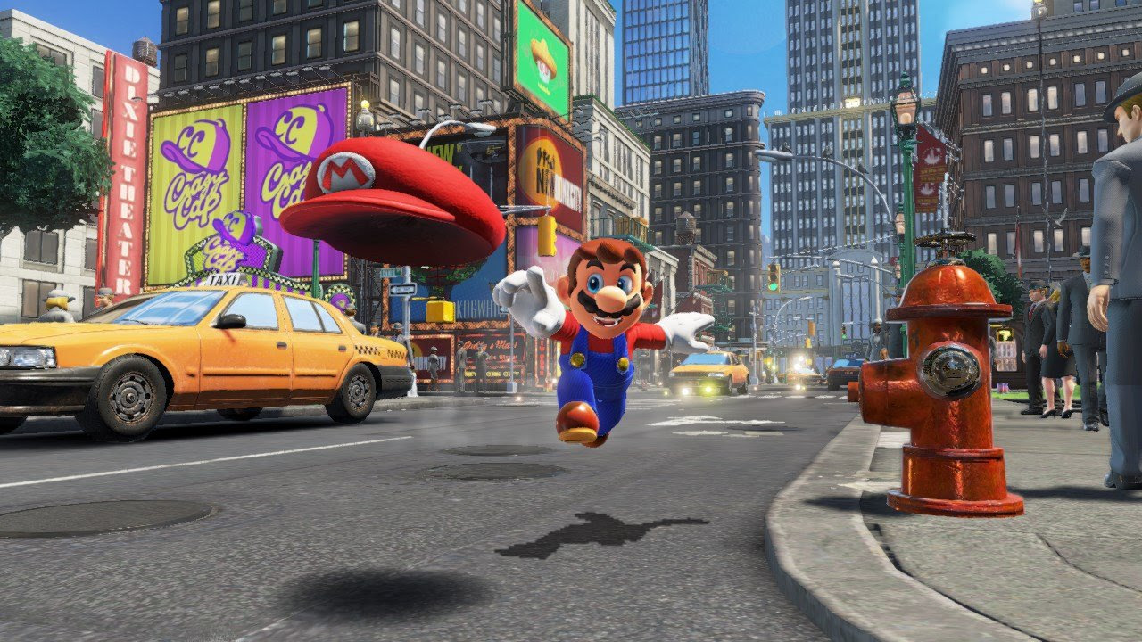 Super Mario Odyssey has a limited co-op mode screenshot
