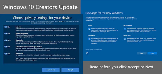 Windows 10 Creators update privacy settings - ESL Newsletters