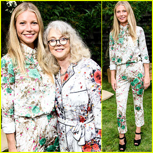 Gwyneth Paltrow Matches Her Mom at goop MRKT Party!