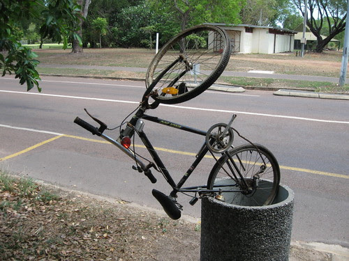 rubbish bike