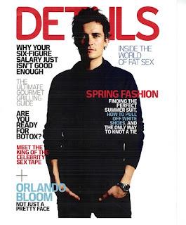 Sexy Orlando Bloom In Details Magazine