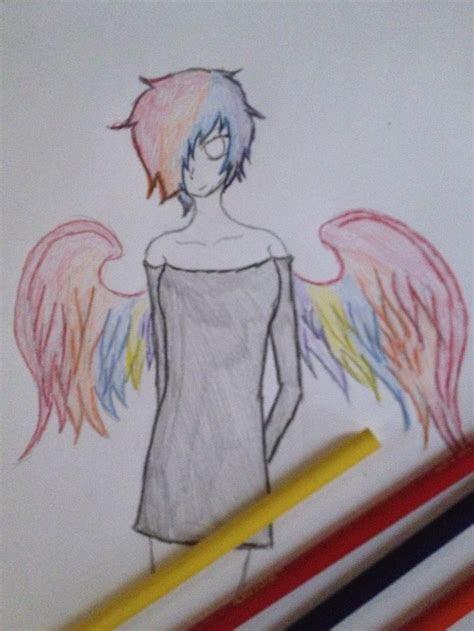 gay pride angel  mad manga bones  deviantart