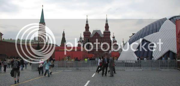 1/2 pelota, 1/4 de Kremlin y 1 museo de historia