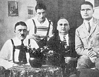Hitler, Maurice, Kriebel, Hess