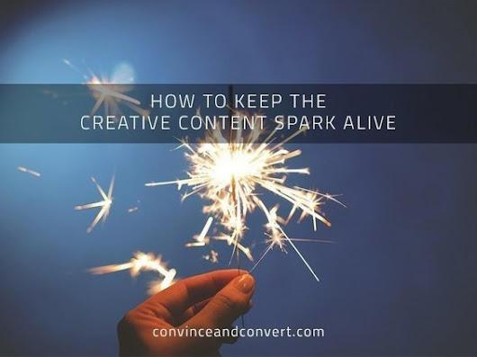 How to Keep the Creative Content Spark Alive | Surviving Social Chaos