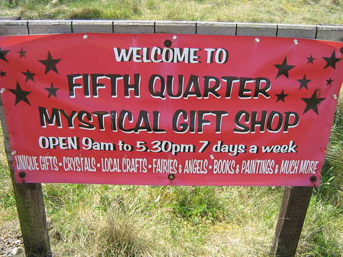 Fifth Quarter sign, Dungeness