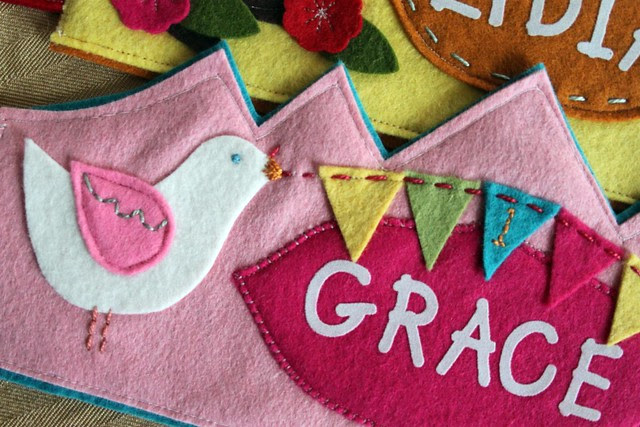 birdie bunting birthday crown