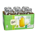 Ball Wide Mouth Half Gallon Jars - 6 count