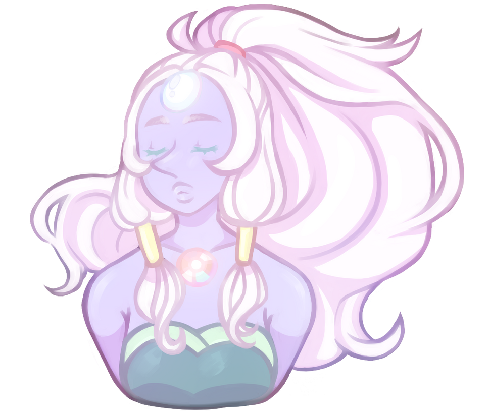 more fan arts <3 i made a giant woman (opal <3)   she is really beautiful