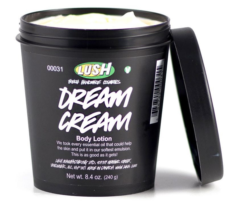 The cream costs £4.50 from Lush. Credit: Lush