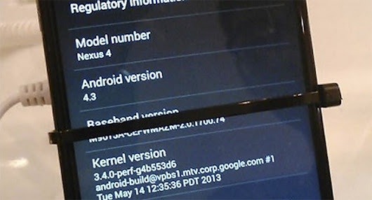 Bilder og video av Android 4.3 Jelly Bean - Esato Norge