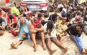 Sex workers and their clients arrested in Ondo for flouting state government's lockdown order
