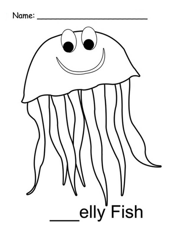 mr jellyfish coloring page  Download \u0026 Print Online Coloring Pages for Free  Color Nimbus