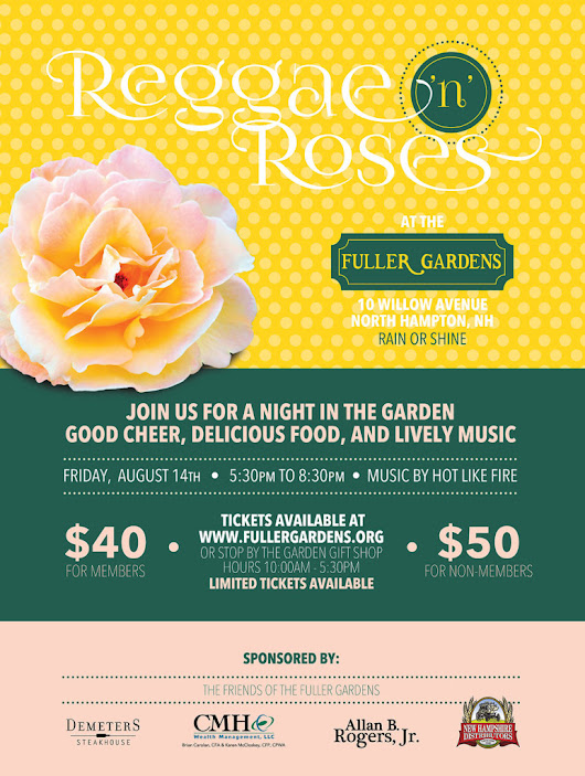 Reggae 'n Roses | Fuller Gardens : A Turn-of-the-Century Estate Garden