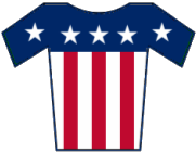Español: Maillot de Estados Unidos