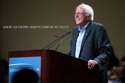 Where does Bernie Sanders stand on the issues?