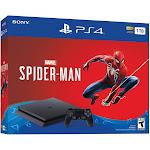 Sony PlayStation 4 Marvel Spider-Man Bundle - 1 TB - Jet Black - includes Marvel's Spider-Man
