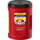 Folgers Classic Roast Ground Coffee - 51 oz canister