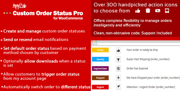 WooCommerce Custom Order Status Pro v2.0.1 WP Plugin