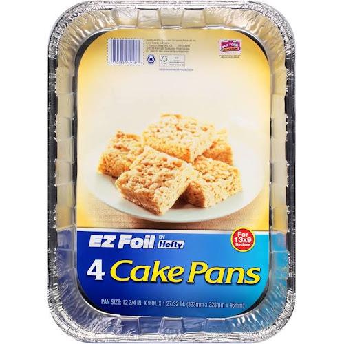 Hefty EZ Foil Cake Pans - 4 count