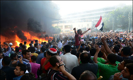 Thousands have taken to the streets throughout Egypt in clashes between supporters and opponents of the Muslim Brotherhood government of Mohamed Morsi. June 30 is a day of portest. by Pan-African News Wire File Photos