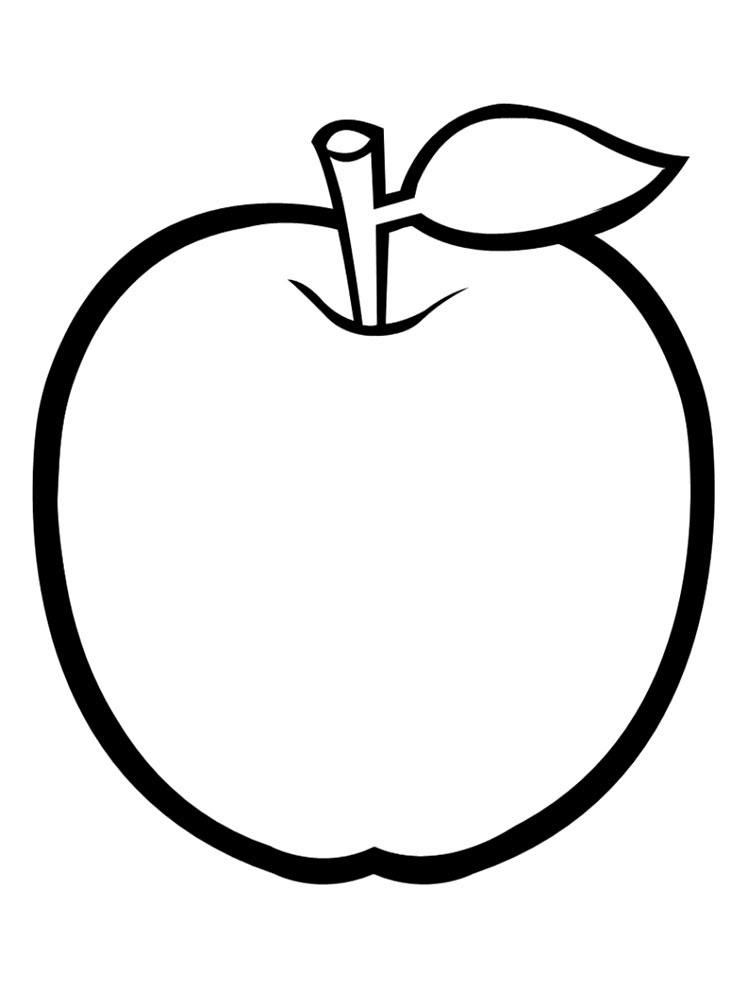 Imprimir Dibujos Para Colorear Fruta Para Ninos Y Ninas