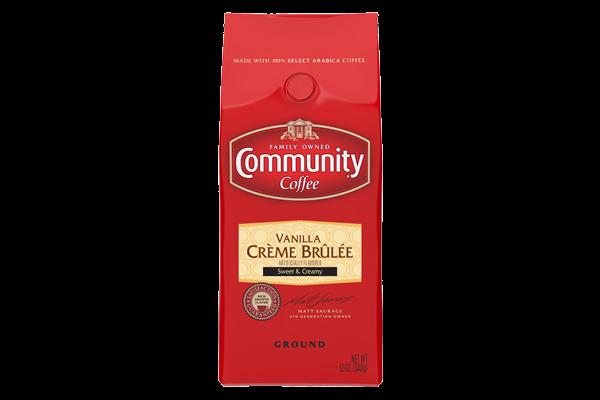 12 oz. Ground Vanilla Creme Brulee