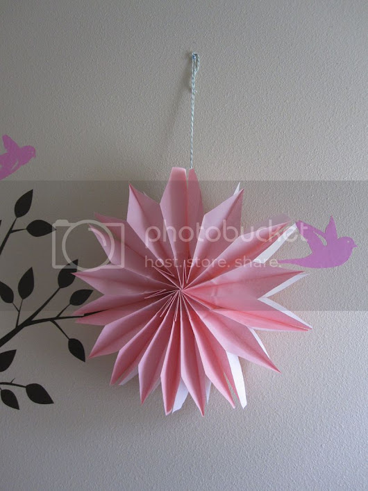 Paper Bag Party Flower Decorations DIY