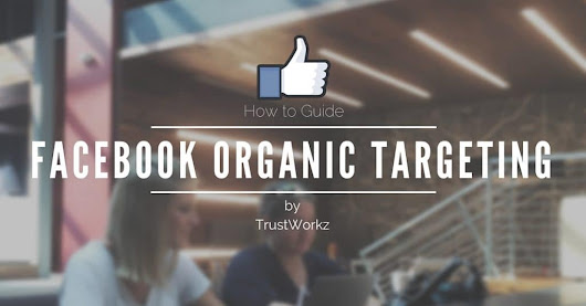 Step By Step Guide for Targeting Your Organic Facebook Posts | Trustworkz