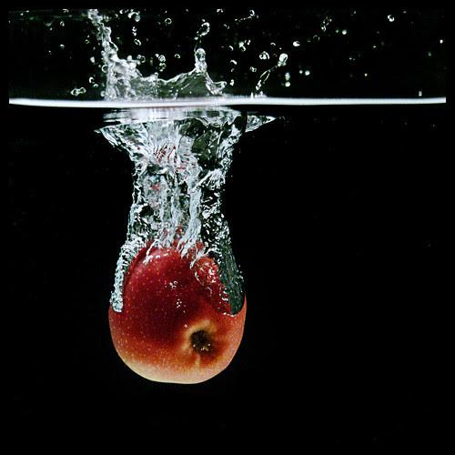 apple splash! by Paul Petruck.
