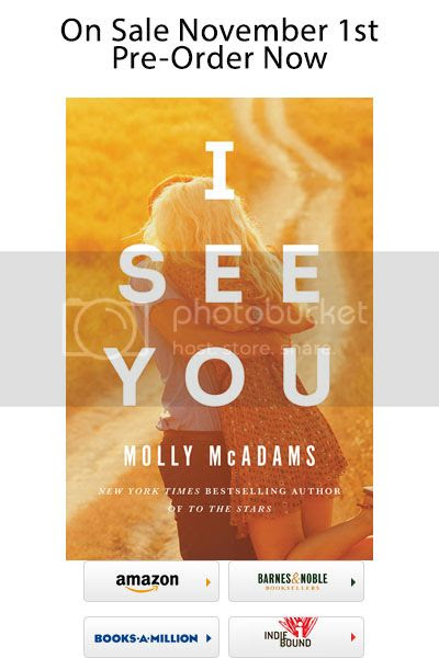 Cover Reveal: I SEE YOU by Molly McAdams