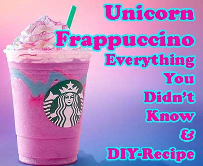 Starbucks Unicorn Frappuccino - Everything You Didn't Know!