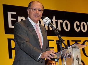 O governador de São Paulo, Geraldo Alckmin (PSDB)