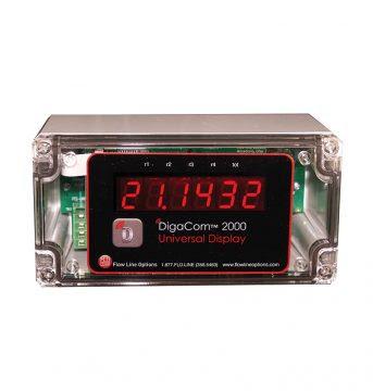 DigaCom 2000™ DCX2 Digital Process Meter, Flocorp-Monitor