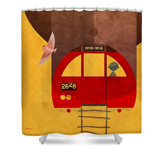 Daviz Industries sold a Shower Curtain on FineArtAmerica.com!
