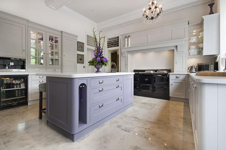 Hand Painted Shaker Style kitchen for Osborne of IlkestonHand ...