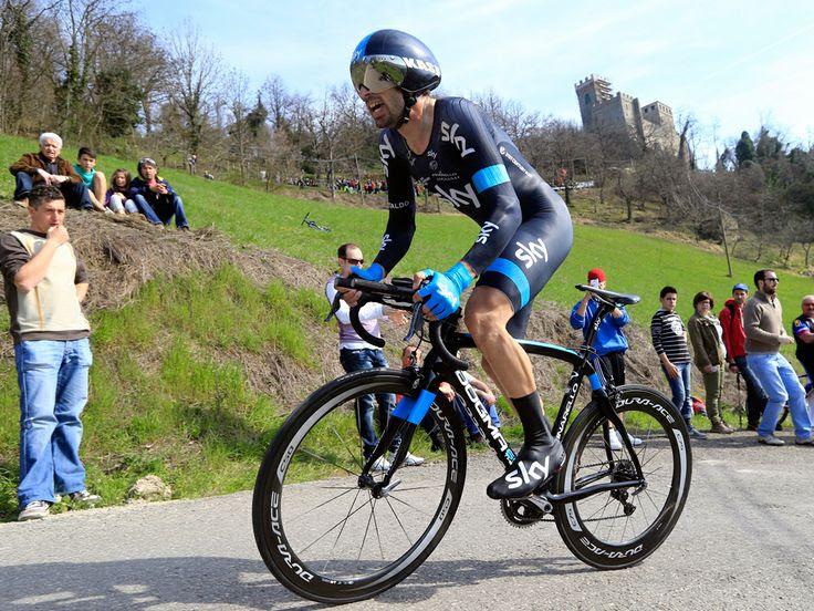 147. Settimana Coppi e Bartali - Stage 4: Pavullo - Castello di Montecuccolo ITT [30/03/2014] Dario Cataldo