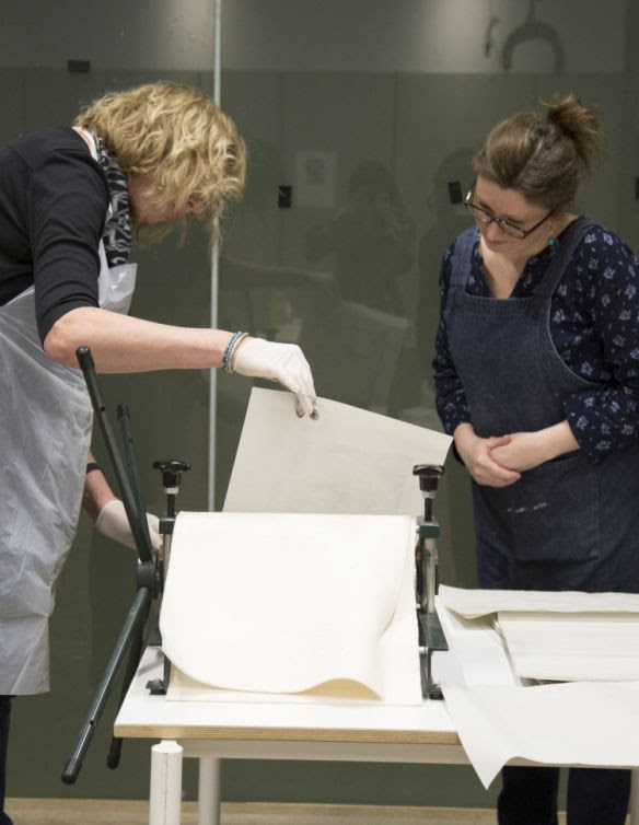 Printmaking course at Tate