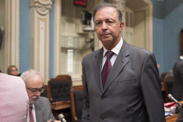 Sam Hamad a quitté ses fonctions ministérielles au printemps... (Photo Jacques Boissinot, archives La Presse canadienne)